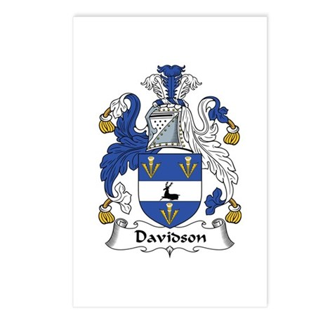 Davidson Postcards (Package of 8)