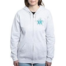 XC Starburst Zipped Hoodie
