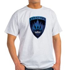 Guardians of the Galaxy Badge T-Shirt
