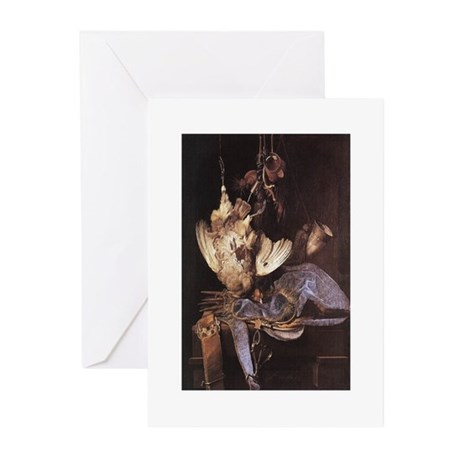 Still-Life with Hunting Equip Greeting Cards (Pack
