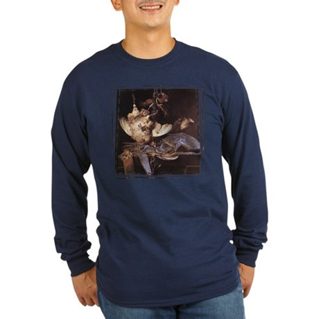 Still-Life with Hunting Equip Long Sleeve Dark T-S