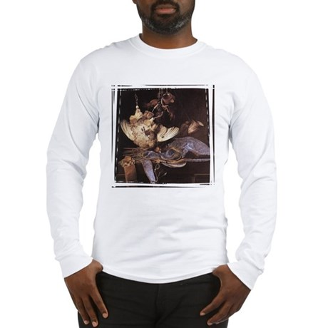 Still-Life with Hunting Equip Long Sleeve T-Shirt
