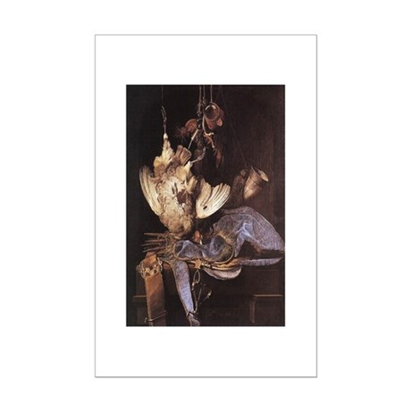 Still-Life with Hunting Equip Mini Poster Print