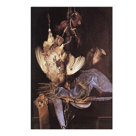 Still-Life with Hunting Equip Postcards (Package o