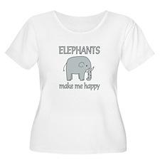 Elephant Happ T-Shirt