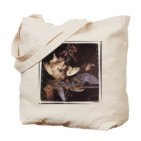 Still-Life with Hunting Equip Tote Bag