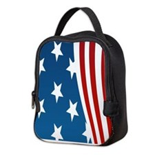 American Flag Neoprene Lunch Bag