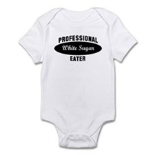 Pro White Sugar eater Infant Bodysuit