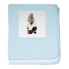 Unique Skunk baby blanket