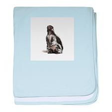 Cool Skunk baby blanket