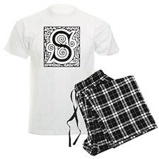 Medieval Letter S Pajamas