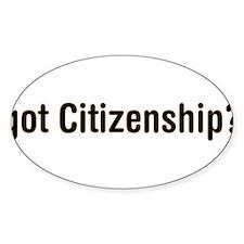 got-Citizenship - big Decal
