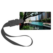 Chicago River Luggage Tag