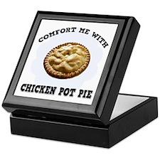 Comfort Chicken Pot Pie Keepsake Box