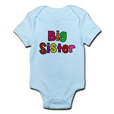 Little Big Sister Brother Infant Bodysuit