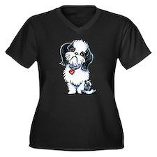 Shih Tzu Panda Plus Size T-Shirt