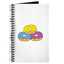 Colorful Doughnuts Journal