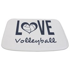 Cute Volleyball Bathmat