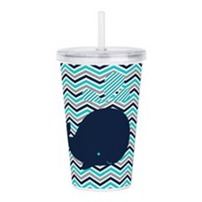 Cute Whale Acrylic Double-wall Tumbler