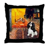 Cafe &amp; Tri Cavalier Throw Pillow