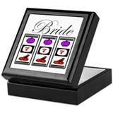 Bride (777 Slots) Keepsake Box