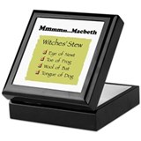 Mmm..Macbeth-- Keepsake Box