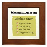 Mmm..Macbeth--  Framed Tile