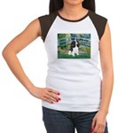 Bridge & Tri Cavalier Women's Cap Sleeve T-Shirt