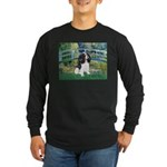 Bridge & Tri Cavalier Long Sleeve Dark T-Shirt
