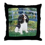 Bridge & Tri Cavalier Throw Pillow
