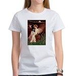 Angel (1) & Tri Cavalier Women's T-Shirt