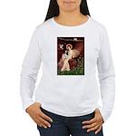Angel (1) & Tri Cavalier Women's Long Sleeve T-Shi