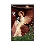 Angel (1) & Tri Cavalier Sticker (Rectangle)
