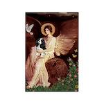 Angel (1) & Tri Cavalier Rectangle Magnet (10 pack