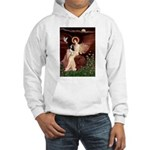 Angel (1) & Tri Cavalier Hooded Sweatshirt