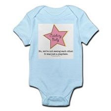 Celebrity Baby Relationship Rumor Mill Pink Onesie