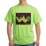 Dutch Bantam Pair2 Green T-Shirt