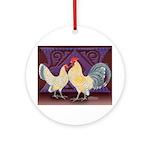 Dutch Bantam Pair2 Ornament (Round)