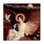 Angel (1) & Tri Cavalier Tile Coaster