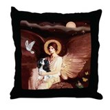 Angel (1) &amp; Tri Cavalier Throw Pillow