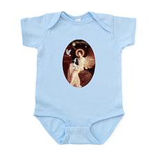 Angel (1) & Tri Cavalier Infant Bodysuit