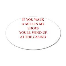 casino Wall Decal
