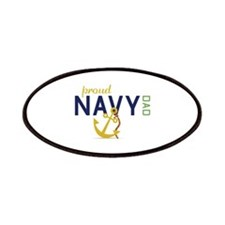 Proud Navy Dad Patches