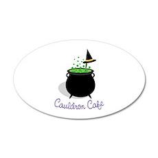 Cauldron Cafe Wall Decal