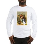 Flowers & Tri Cavalier Long Sleeve T-Shirt