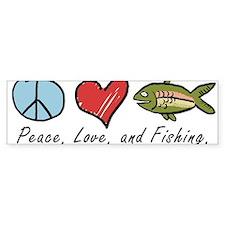 Funny Fishing Bumper Sticker
