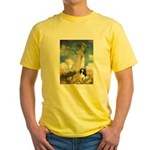 Umbrella / Tri Cavalier Yellow T-Shirt