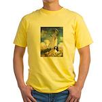 Umbrella / Tri Cavalier Yellow T-Shirt