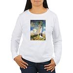 Umbrella / Tri Cavalier Women's Long Sleeve T-Shir