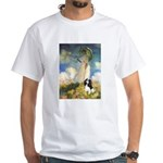 Umbrella / Tri Cavalier White T-Shirt